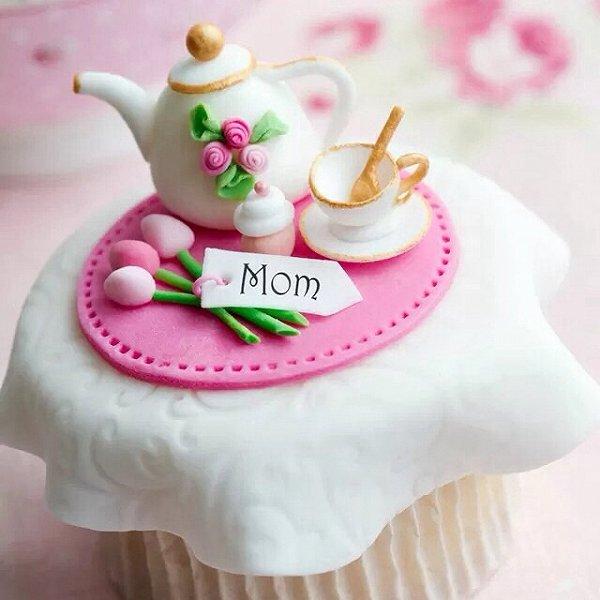 爱骨头i的翻糖杯子蛋糕做法的学习成果照