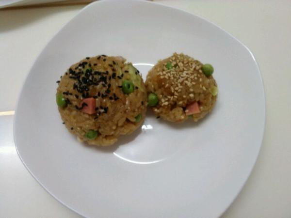 庄妈3的糯米饭团做法的学习成果照