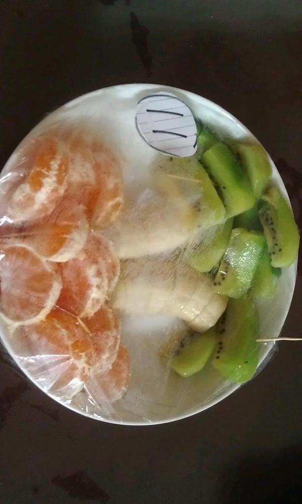 八爪鱼hz的创意水果拼盘做法的学习成果照