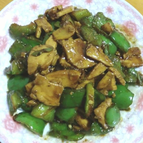 木子肖的甜椒炒鸡脯做法的学习成果照_豆果美食