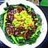 家常菜-三鲜鱼肚(油面筋炒油菜)