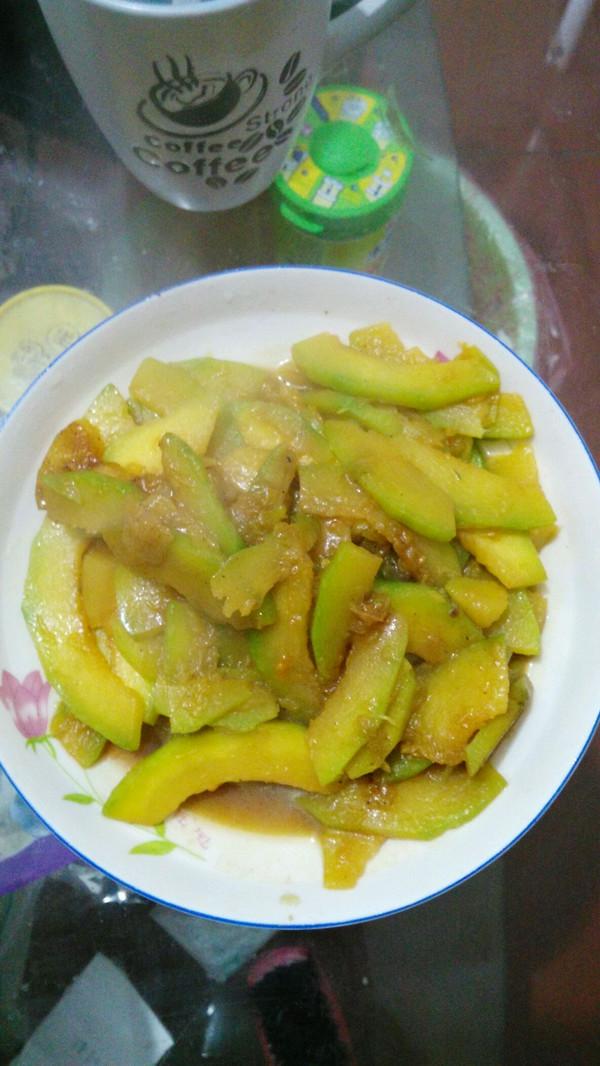 风铃之音的炒南瓜做法的学习成果照 豆果美食