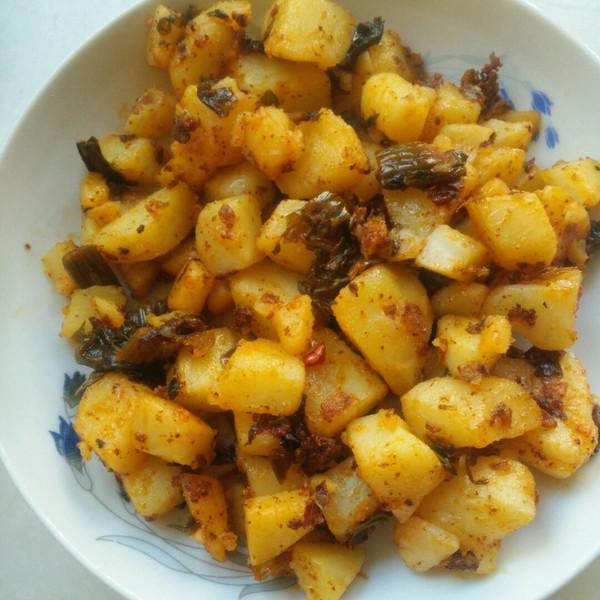香香蔓的酸自助炒成果菜品的v成果做法照腌菜图片广告牌洋芋图片