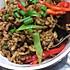 牛肉香菇虾皮炒饭