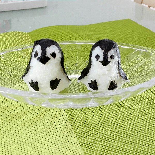 晨0625的企鹅饭团做法的学习成果照