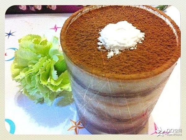 糖果仔的好看又好吃的提拉米苏杯做法的学习成果照 豆果美食