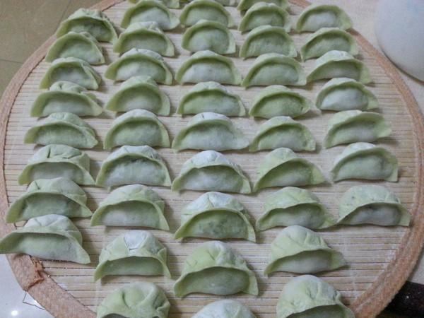 o罂粟花开o的翡翠白菜蒸饺做法的学习成果照