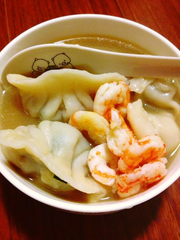 txlyuzhi的韭菜鲜虾馅饺子做法的学习成果照