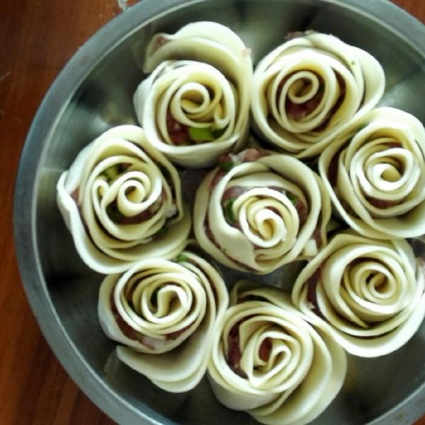 菲桐小可的玫瑰饺子做法的学习成果照