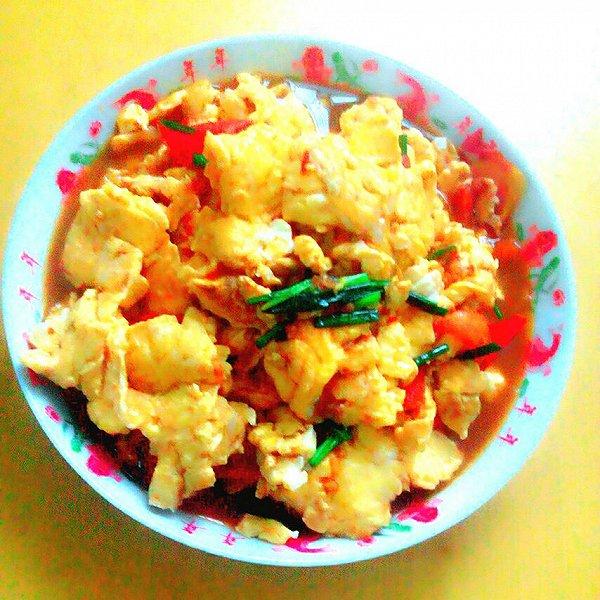 紫英的的番茄炒蛋做法的学习成果照_豆果美食