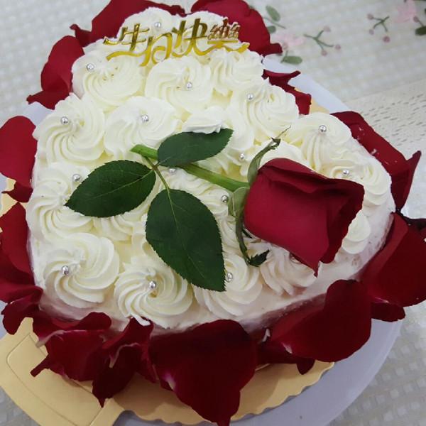 henlixy的玫瑰花蛋糕做法的学习成果照