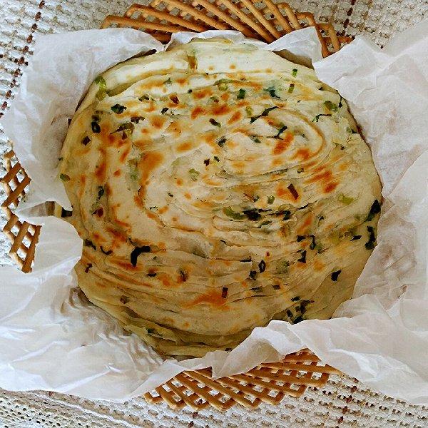 羊羊羔的葱油饼:利仁电饼铛试用做法的学习成果照