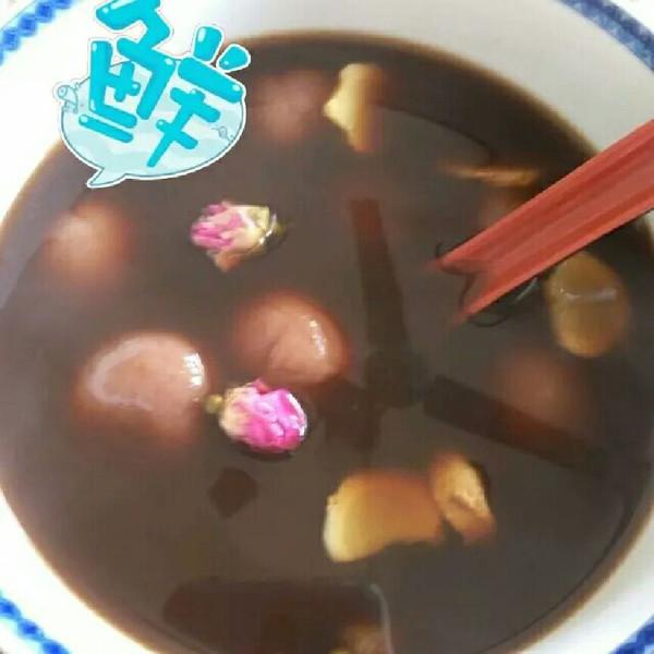 xiaxia霞的红糖玫瑰汤圆做法的学习成果照_豆果美食