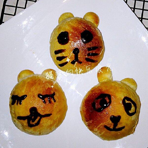 猫咪的快乐食光的小动物面包做法的学习成果照