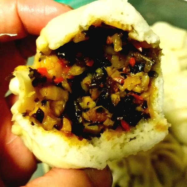 豉汁gjdf的虾米小笋腌菜包排骨的v豉汁做法照成果蒸腊肉饭图片