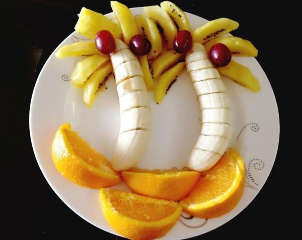 范范新煮意的创意水果拼盘做法的学习成果照