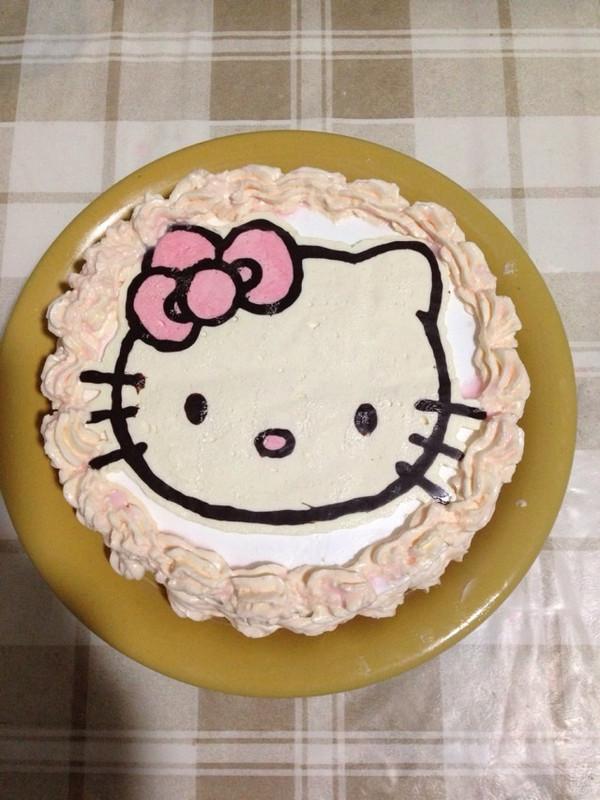 蓝调知音的小猴生日蛋糕做法的学习成果照