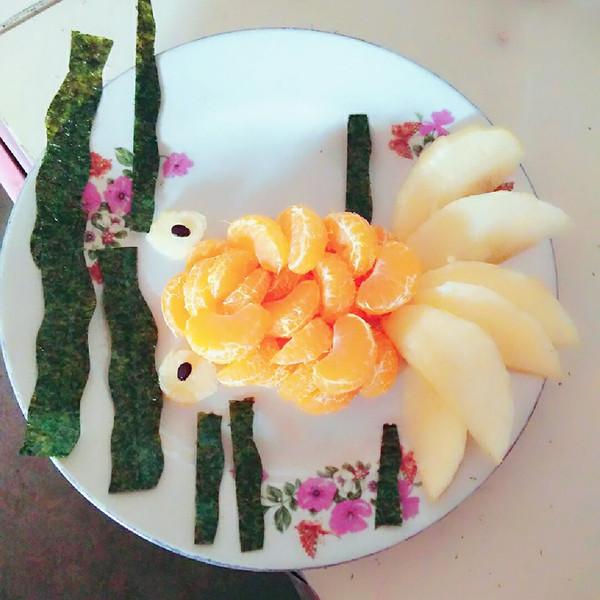 metisqxgb的儿童水果拼盘金鱼做法的学习成果照