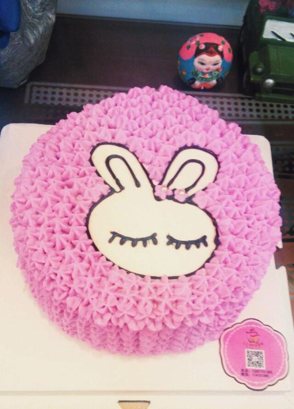 ° 的小兔子蛋糕做法的学习成果照