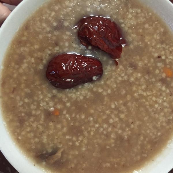 暧,詪简单的小黄米血糯米红枣粥做法的学习成