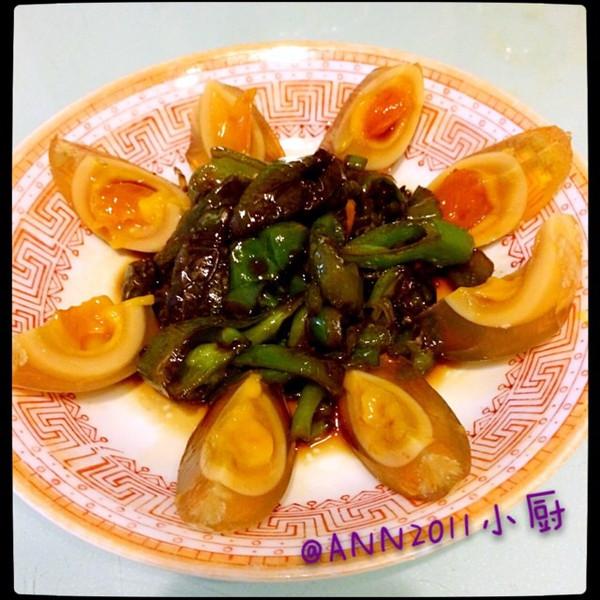 NN2011的虎皮青椒皮蛋做法的学习成果照 豆果美食