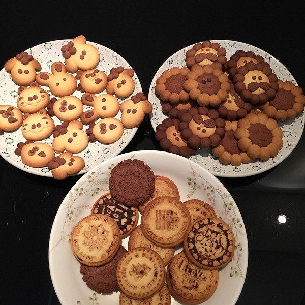给小孩幼儿园做的饼干
