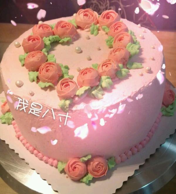 果儿159的小清新蛋糕做法的学习成果照_豆果美食