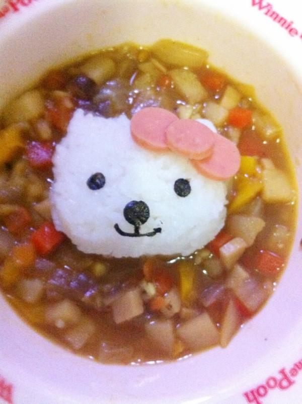 幼儿米饭简笔画