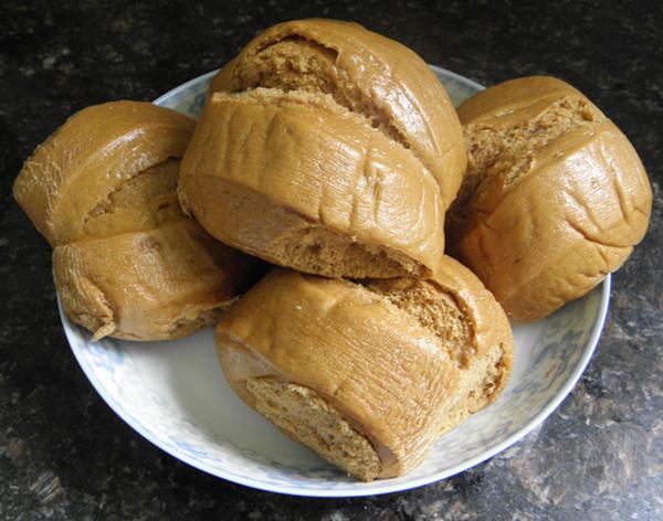 拿铁摩卡兔的面包机做馒头做法的学习成果照