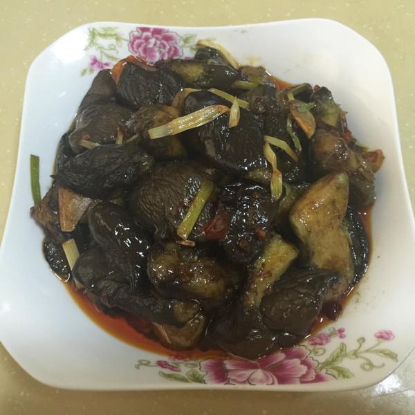 红_心_缘火腿肠的红烧茄子美食的推荐成果照学习大悦城做法图片