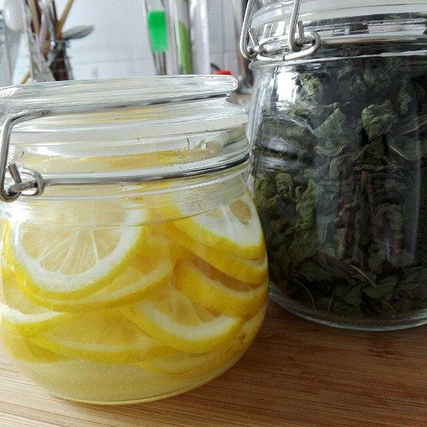小清新的吃货酱的diy柠檬水做法的学习成果照