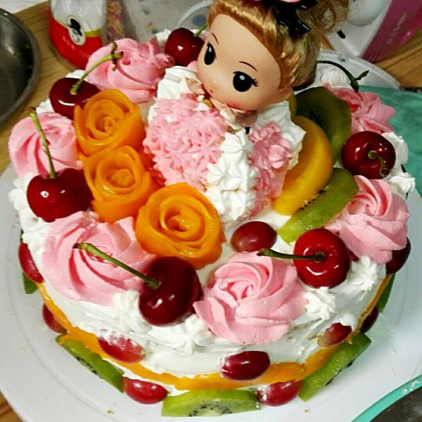 sakura1984的公主水果蛋糕做法的学习成果照