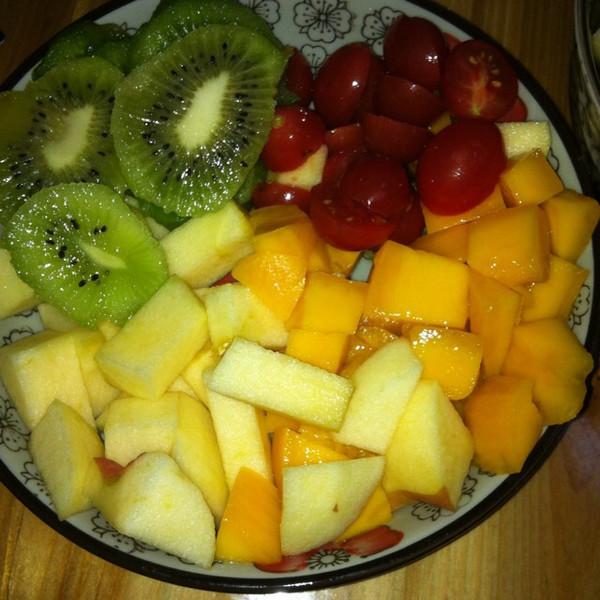 取昵称好难的简单水果拼盘做法的学习成果照 豆果美食