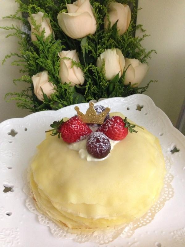 baobao蕾的榴莲千层蛋糕做法的学习成果照