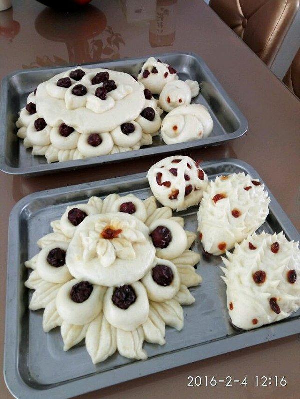 冬日暖阳123456的枣糕做法的学习成果照