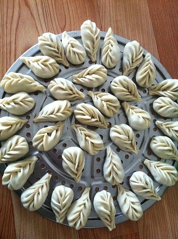 楼兜兜的十种家常饺子包法做法的学习成果照