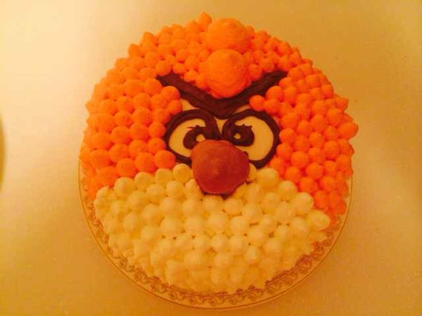 愤怒小鸟蛋糕